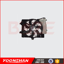 Radiator cooling fan shroud motor brushes for 25380-1R050 accent 2012