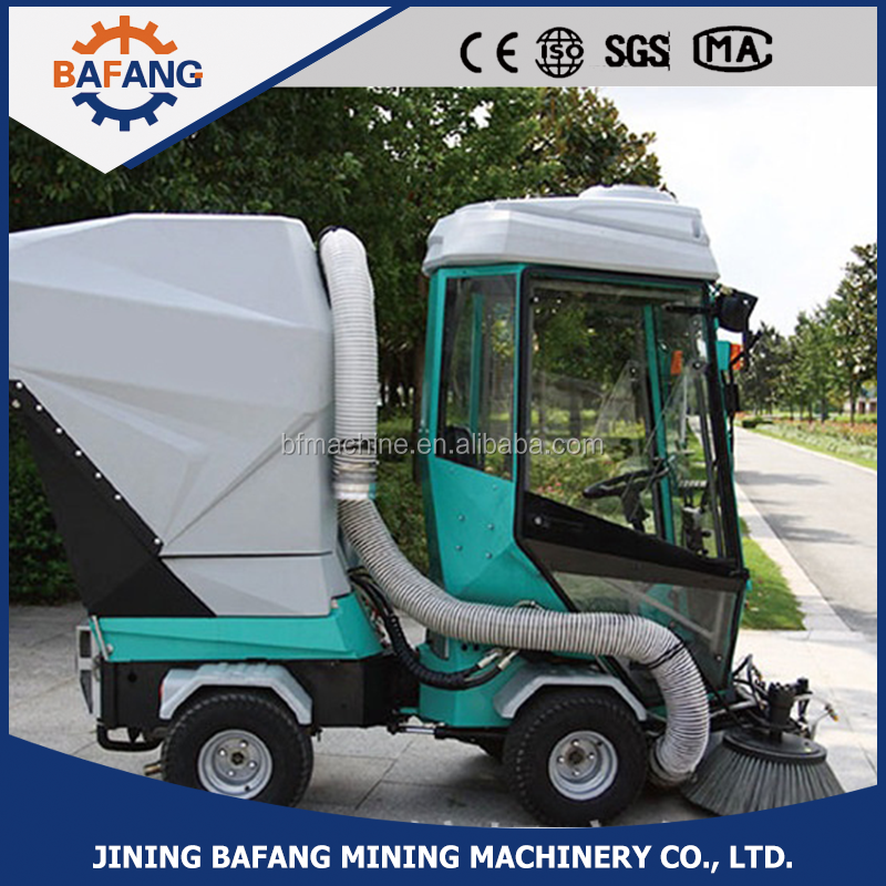 Made in CHINA diesel engine road sweeping cleaning vehicle