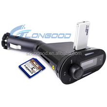 Handsfree Folder Change Car MP3 player FM transmitter With Bluetooth Supports USB SD card