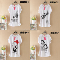 wholesale price summer loose cartoon printed women T-shirt #OCW301