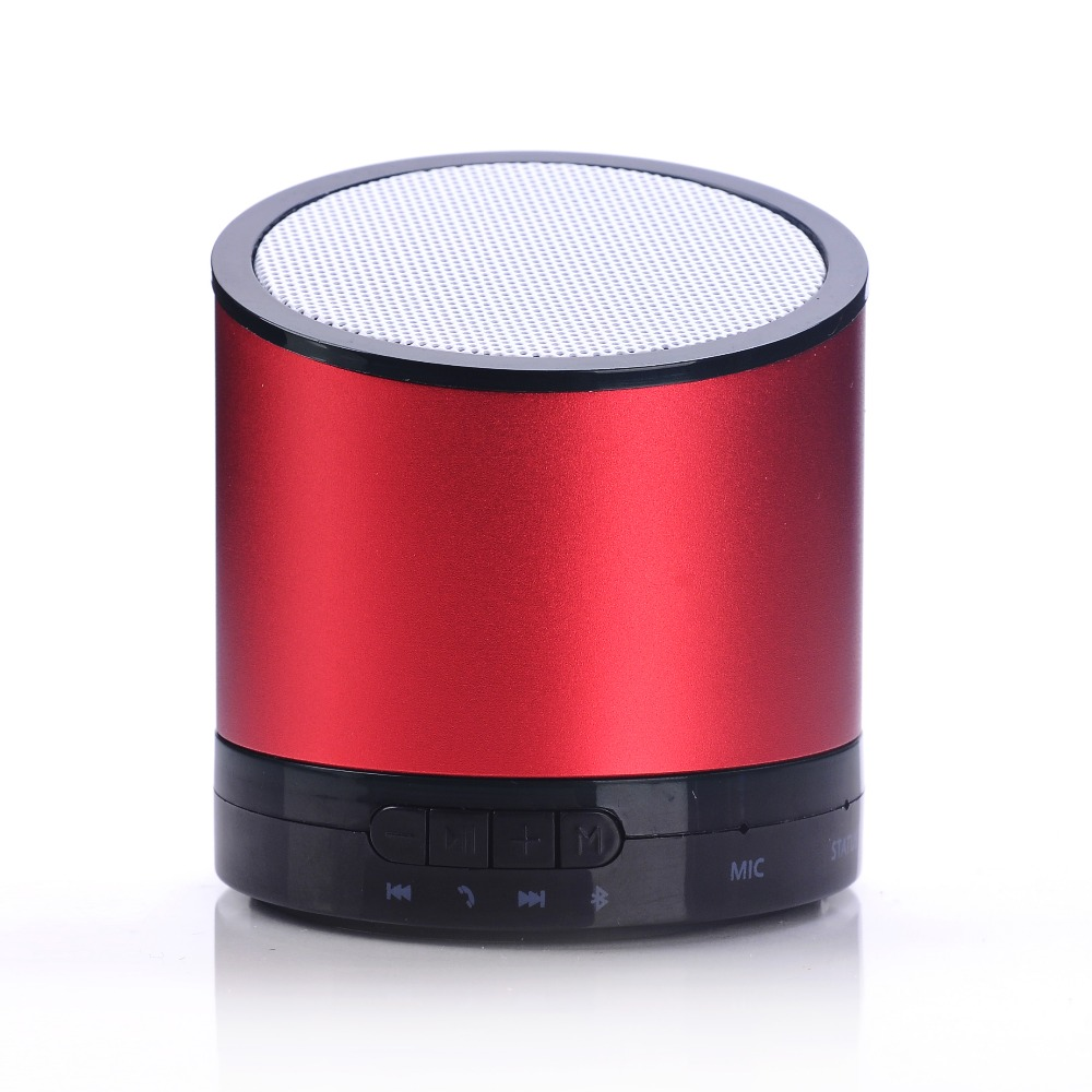 2017 new promotion gift ibastek professional speaker wireless Mini Bluetooth Speaker with TF Port for Phone/Laptop/Tablet PC N6