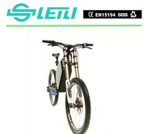 Cheap 350w enduro/electric bike/off road with lcd display
