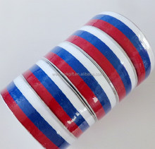Wholesale Red White Blue American Flag Military Medal Ribbon