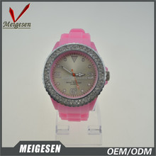 Shenzhen Maunufacturer discount wristwatch promotion cheap gifts girl silicone watches