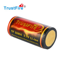TrustFire 3.7V 6000mAh 32650 the lithium rechargeable batteries 6000mAh battery