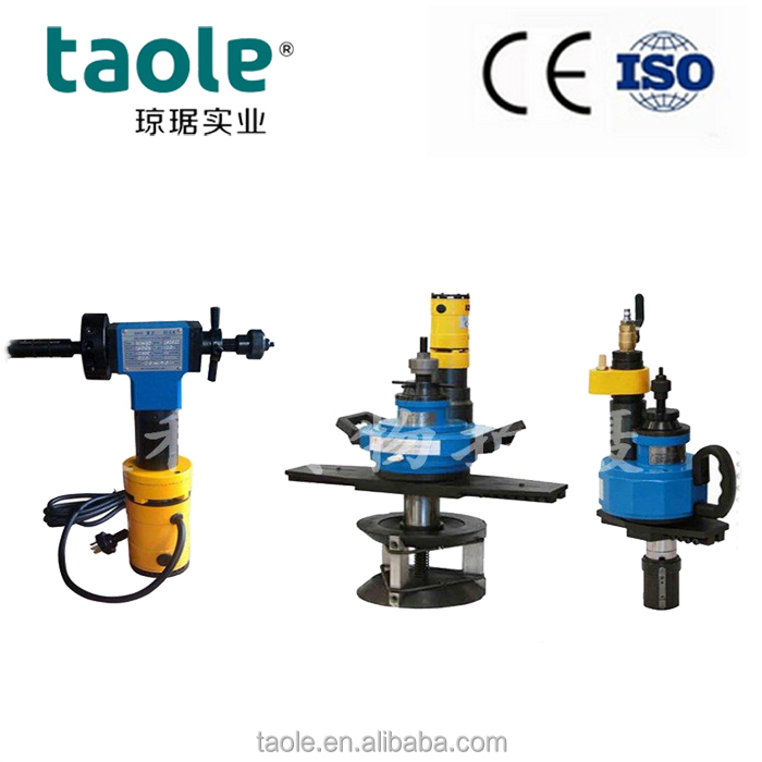 ISE-630-1 MS SS Tube beveling chamfering deburring polishing machines for 12-24''Pipe