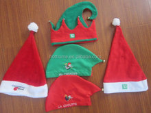 Wholesale red Christmas Santa Hat for both adults anfd kids