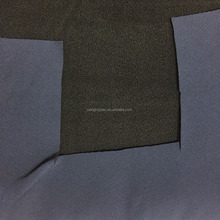100%Polyester mechanical stretch pongee fabric bonded with microfleece fabric/mechanical stretch bonding fabric