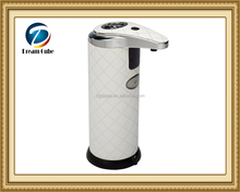 Hotel 250ml battery operated stand stainless steel automatic liquid soap dispenser