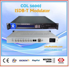 digital tv headend RF modulator isdb-t adapt to Japan, Brazil, Argentina &other South American country's terrestrial tv COL5600J