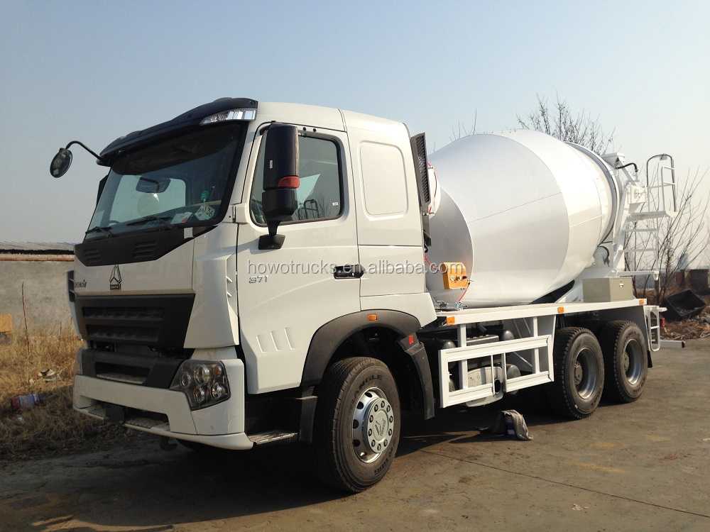 hot sale! 2016 new model 6x4 agitating cement mixer truck for dubai