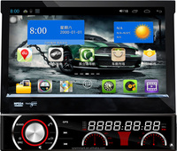 Best-selling 7'' single din car dvd player DP7090 with GPS/3G/WIFI/MIRROR-LINK/BT etc.features