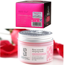 Factory beauty facial rose luxury sleeping mask pack