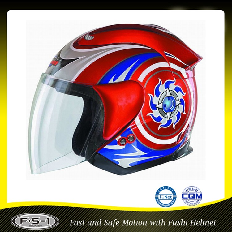 Design your own motorcycle accessory helmet ECE approved