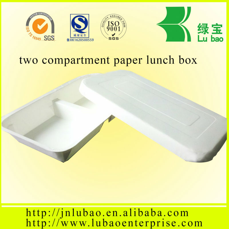 Disposable paper fast food bento popular in western country