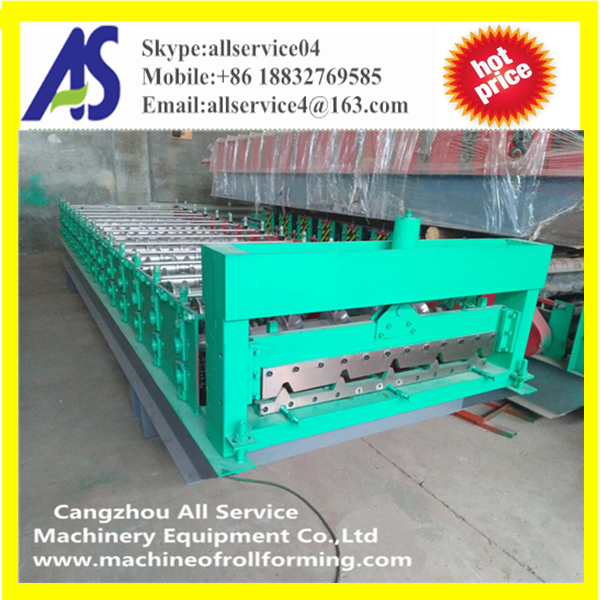 ibr trapezoid metal roof tile cold roll forming machinery
