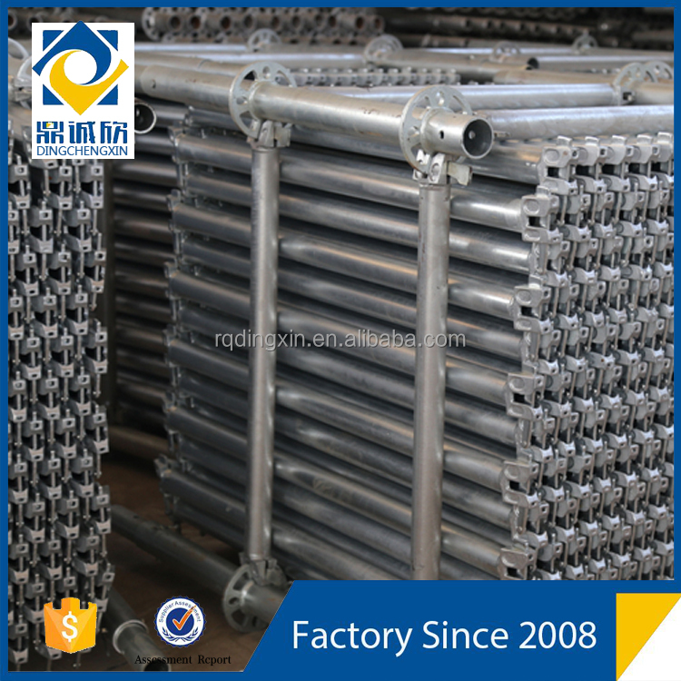 Used Sucoot EN12810 Hot Dip Galvanized Layher Ringlock Shoring Scaffold System Equipment