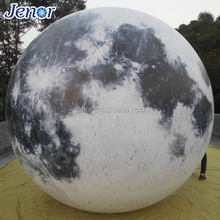 Giant Ceiling Inflatable Planet Balloons Helium Globe Balloon with Light