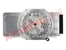 Kearing OEM aviation air speed circle calculater, round wheel E6B flight computer, aviation slide rule#KCR-3