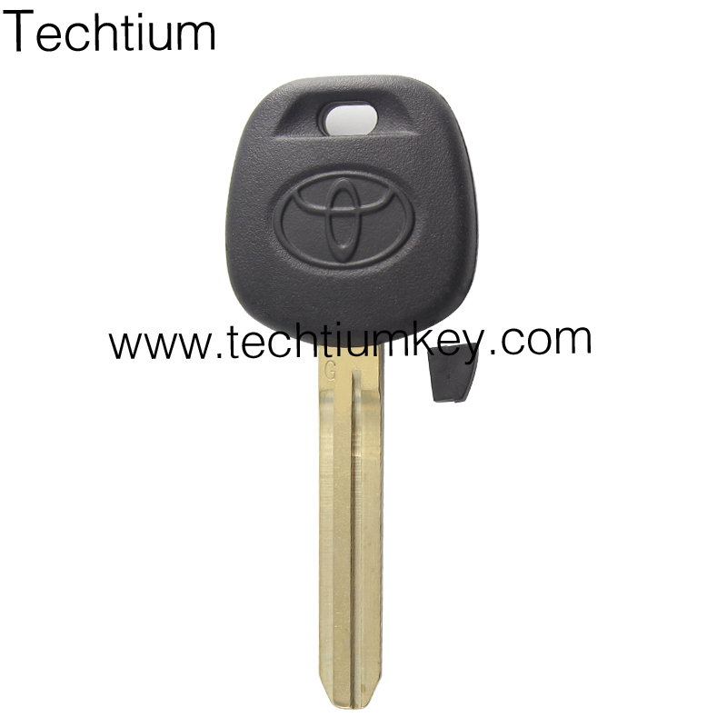 Original quality Soft Plastic ABS Head car key covers for Toyota H <strong>G</strong> chip transponder key