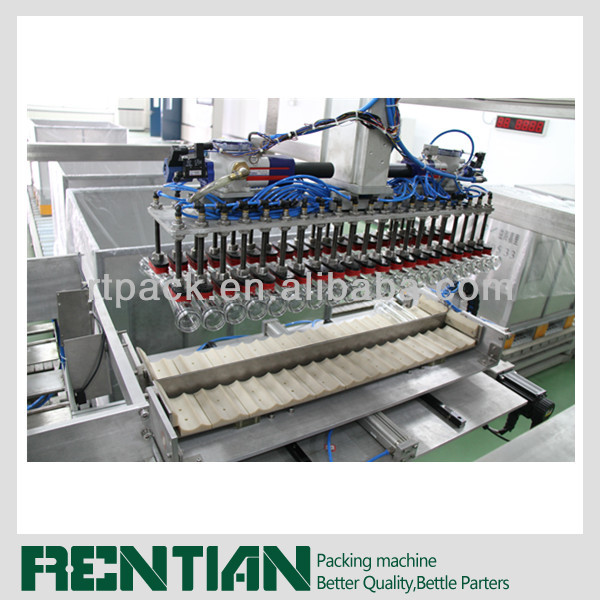 Performed Bottles Case Packer for bottle