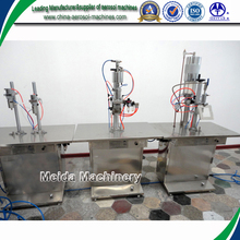 semi-automatic bactericide aerosol filling plant/machine