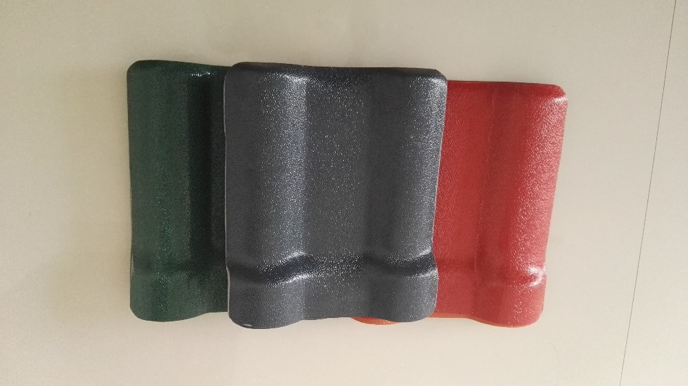 synthetic resin plastic spanish style roof tile