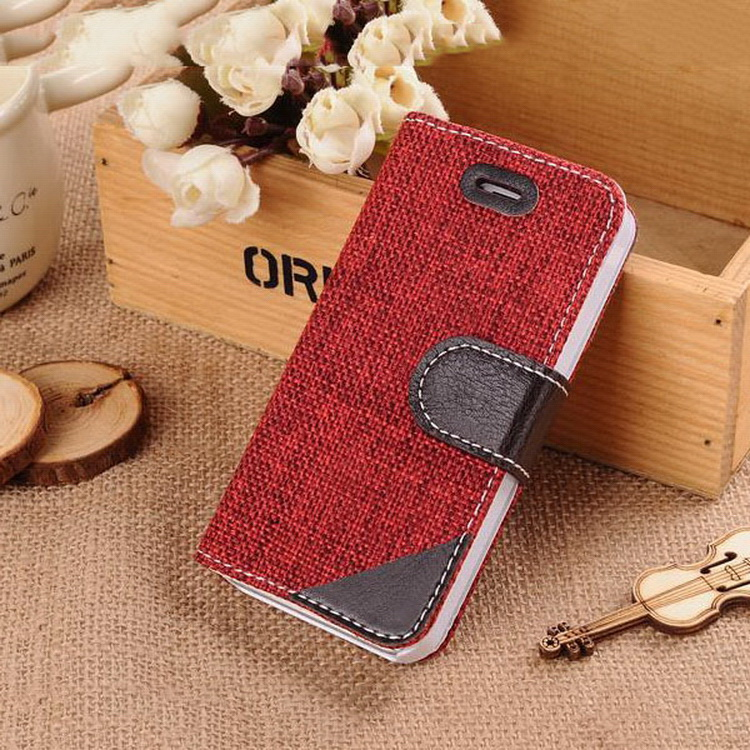 Economic top sell leather mobile phone case for iphone5