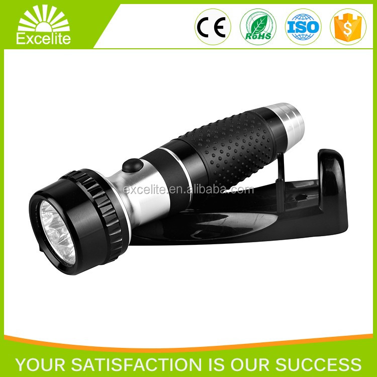 LED rechargeable emergency hotel use flashlight torchlight