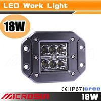 "2015 hot sell 4"" 18w led work light bar,super 4x4 off road lights"