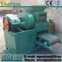 High quality and reliable fertilizer, inorganic powder roller ball briquette press machine without drying binder