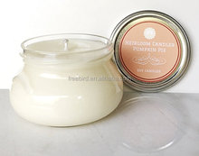 High Quality 100% Cotton Wicks Candle Scented - Pumpkin Pie