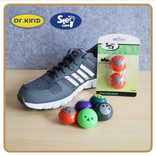 Blister card package sneaker freshener shoe deodorizer ball