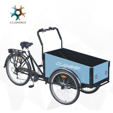 China Alibaba Supplier Front Cargo Dutch Tricycle