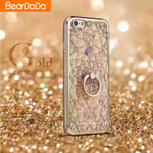 Attractive Appearance tpu crystal bling phone case for iphone 7