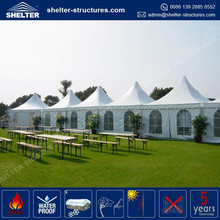 New design quickly setup 4 people aluminum gazebo roof tent similar design to hoecker Asia beach game official supplier