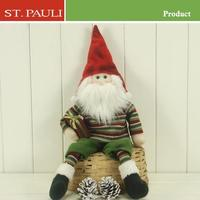 15inch sitting santa hot christmas gift in 2015