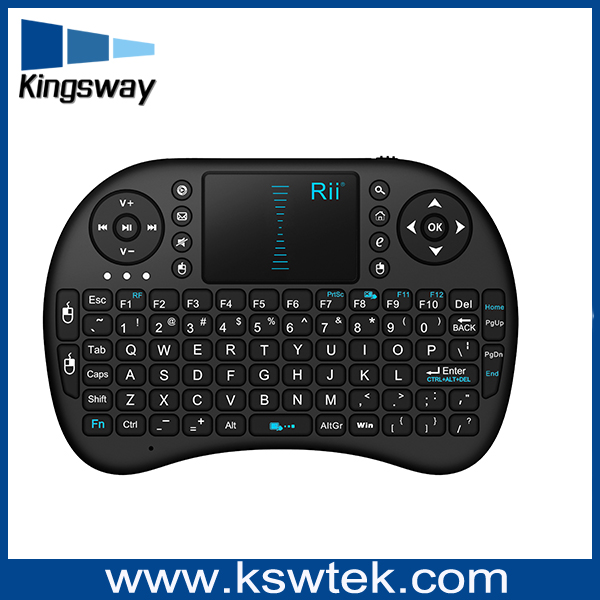 2.4g air mouse water proof keyboard with touch pad