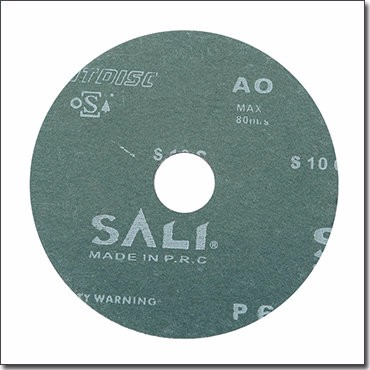 Aluminum oxide fiber disc, abrasive paper for machine using
