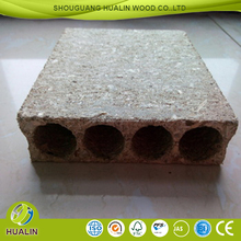 hollow core particle board/tubular chipboard
