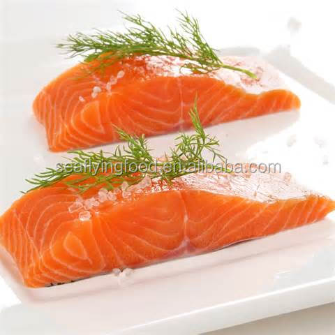 Hot Sale Frozen Chum Salmon Portion