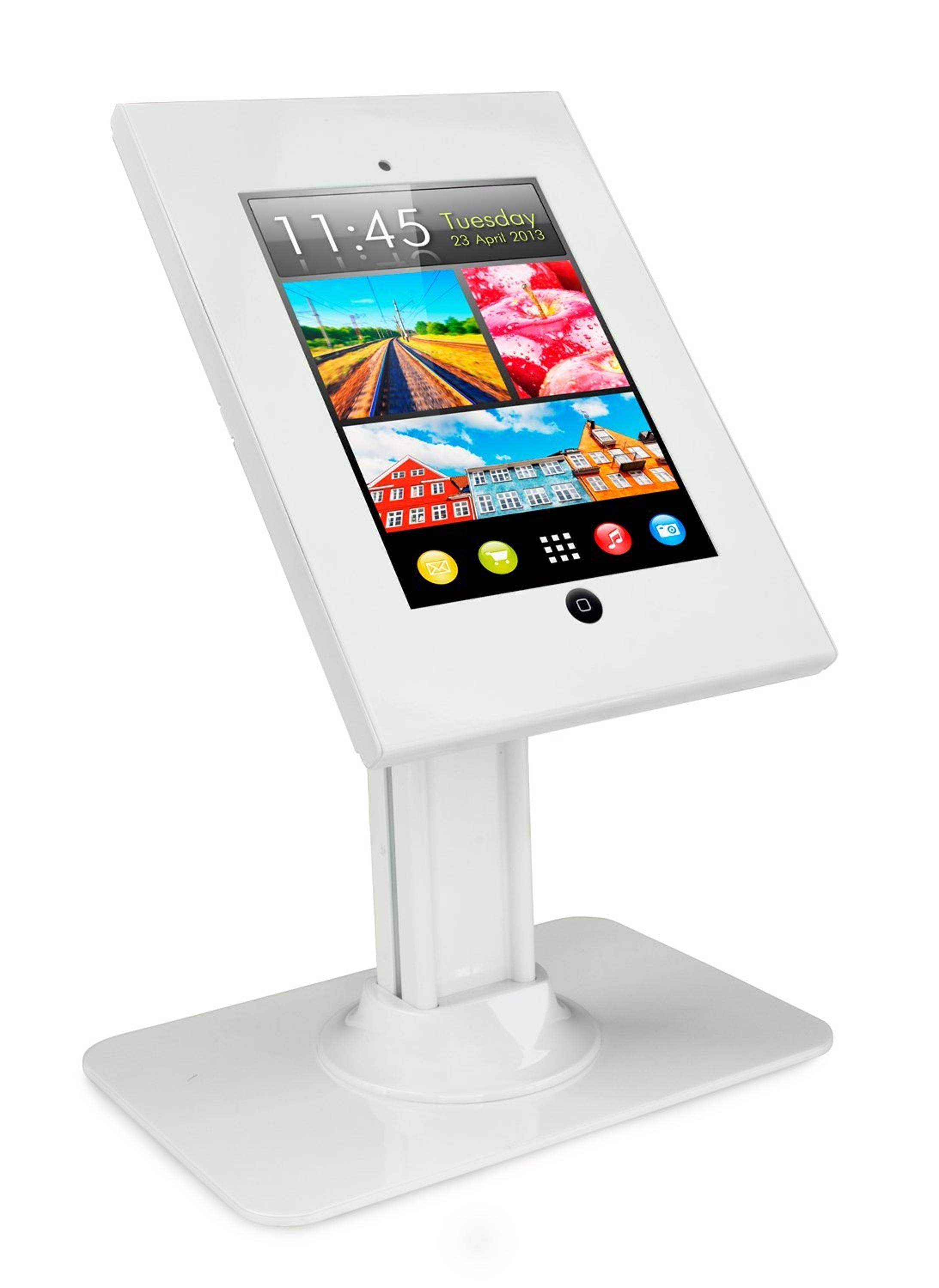 OEM Design Android Tablet Kiosk Stand For Pos With Lock