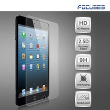 latest design 0.3mm tempered glass screen protector for Apple ipad mini tempered glass 2.5d 9h tempered glass film