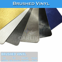 SINO Vehicle Body Protect Brush Grey Sticker Auto Brushed Vinyl Car Wrap