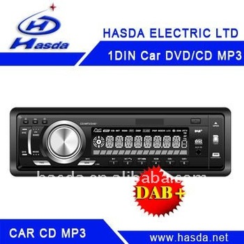 One din LCD Screen Dab car radio audio player with usb sd