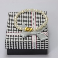 Bracelet Pearl Jewelry Bow knot Elegant Woman Pearl BeadsHigh Quality Bracelet As Wedding Accessories