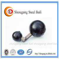 SAG ball mill used dia. 60mm-150mm low price cast iron ball