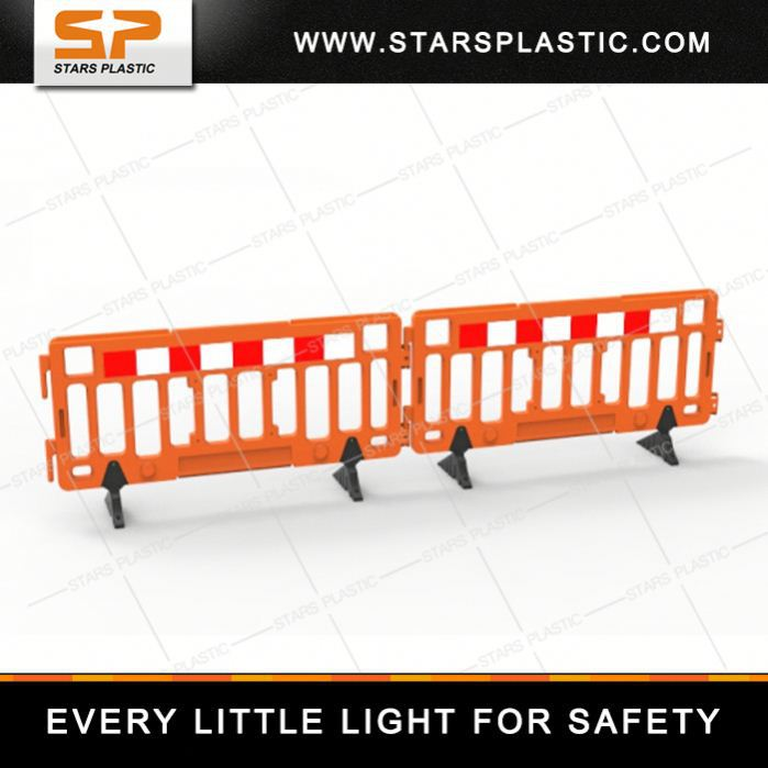 2 Meter Road Safety Heavy Base HDPE perimeter fence security