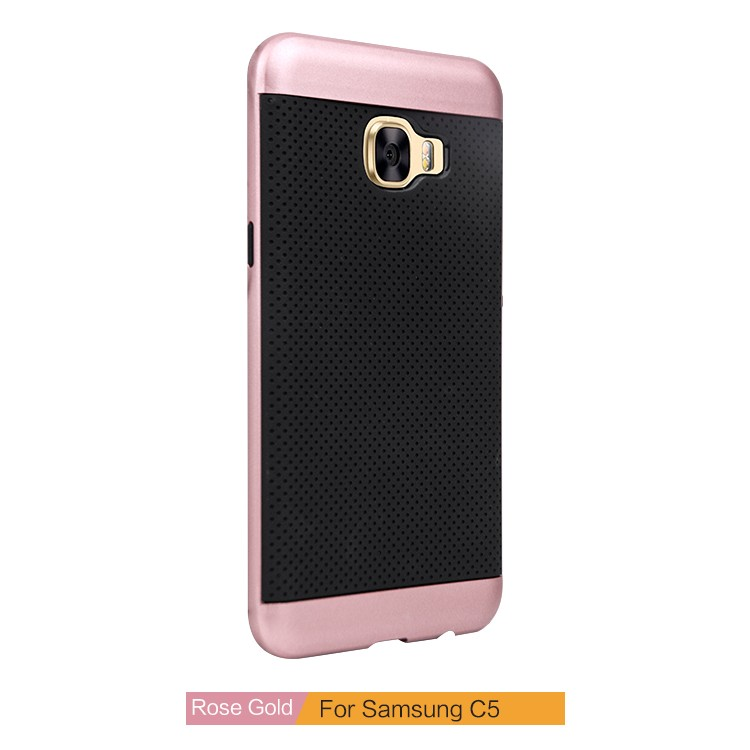 Best Quality Protective Shockproof Hybrid Armor Cellphone Case For Samsung Galaxy c5