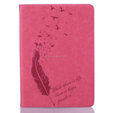 For iPad 5 Air For iPad mini Smart Wake UP & Sleep Leather Flip feather Cover For iPad 5 ,iPad4 ,For iPad 2 holster Stand Case